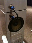 Adam Audio (backside speaker)