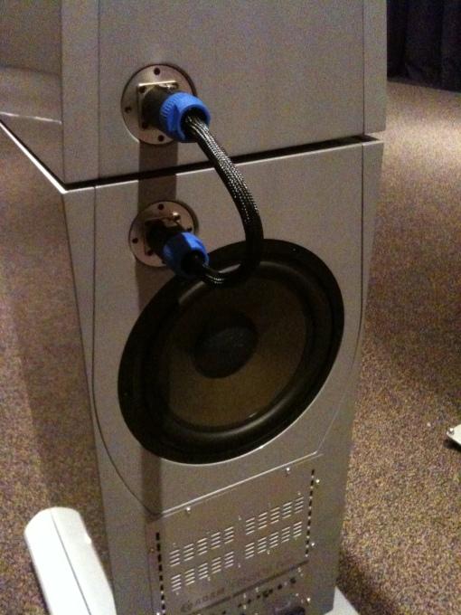 Adam Audio (backside speaker)