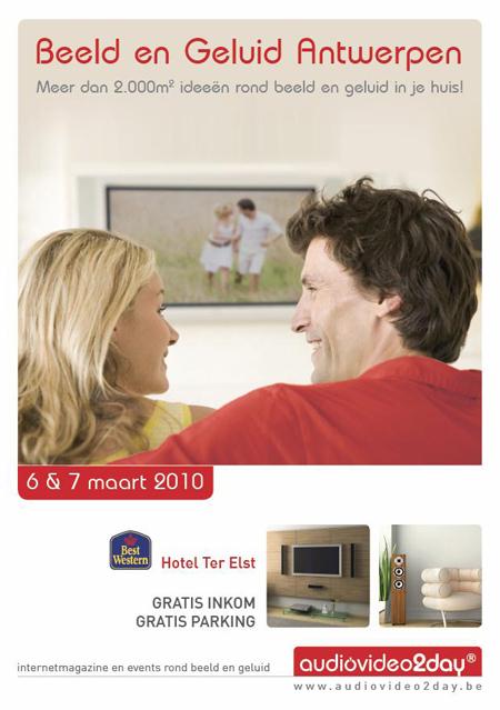 Beeld en Geluid Antwerpen 2010 - AudioVideo2Day.be